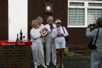 Ladies Day: The winning team - Purley Bury Queen Bees
