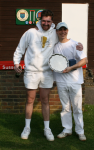 Jamie Burch wins the Sussex Salver for 3rd year running, with runner up Rutger Beijderwellen