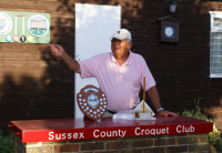 SECF GC Teams Event August: Manager Bill Arliss