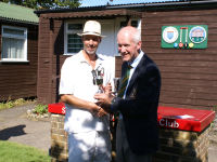 CA GC Open Championship: Bowl winner David Wise with Andrew Hope (photo: Ray Hall)