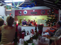Xmas party: Thanking the Cooks