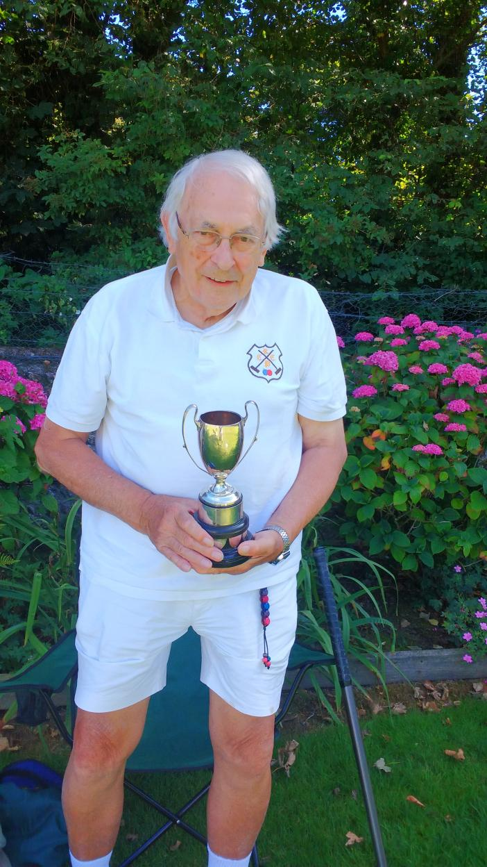 Annual Tournament: John Knight, Daldy Cup winner