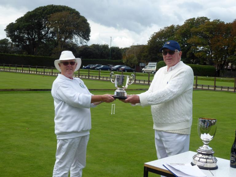 Challenge & Gilbey: Liz farrow, Council Cup winner